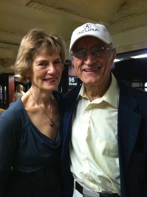 Caroline and Robert have been married for 28 years.They founded Total Theatre Lab together in 1989.