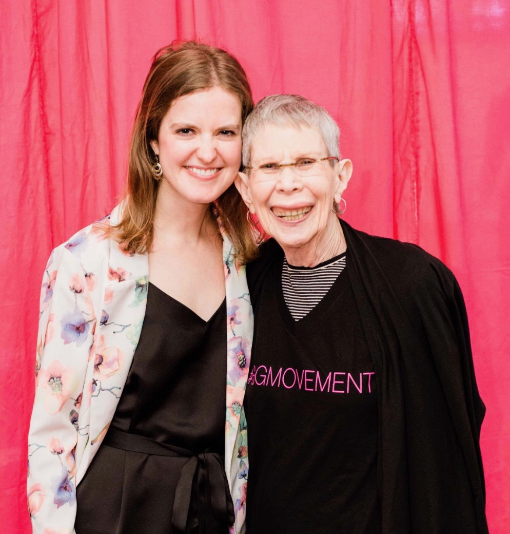 Rosalie and Heather Furlow at the 2018 Glammy Awards