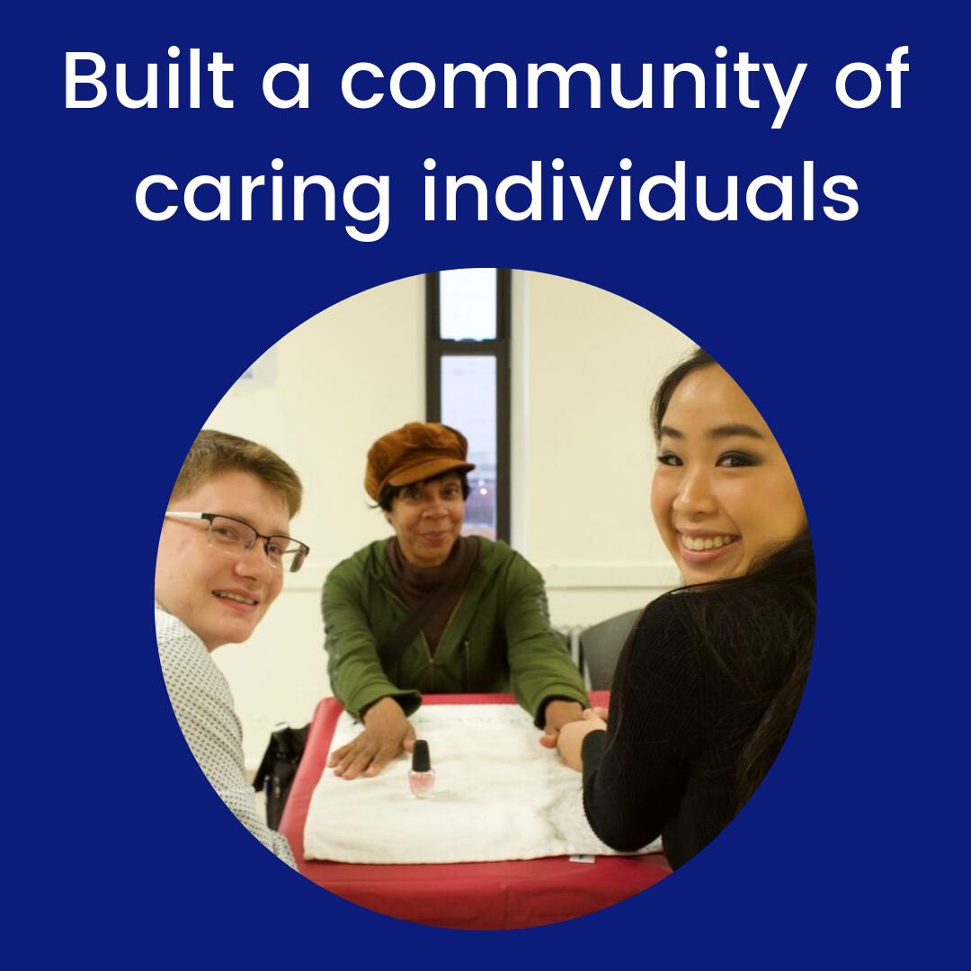 Built a community of caring individuals.png