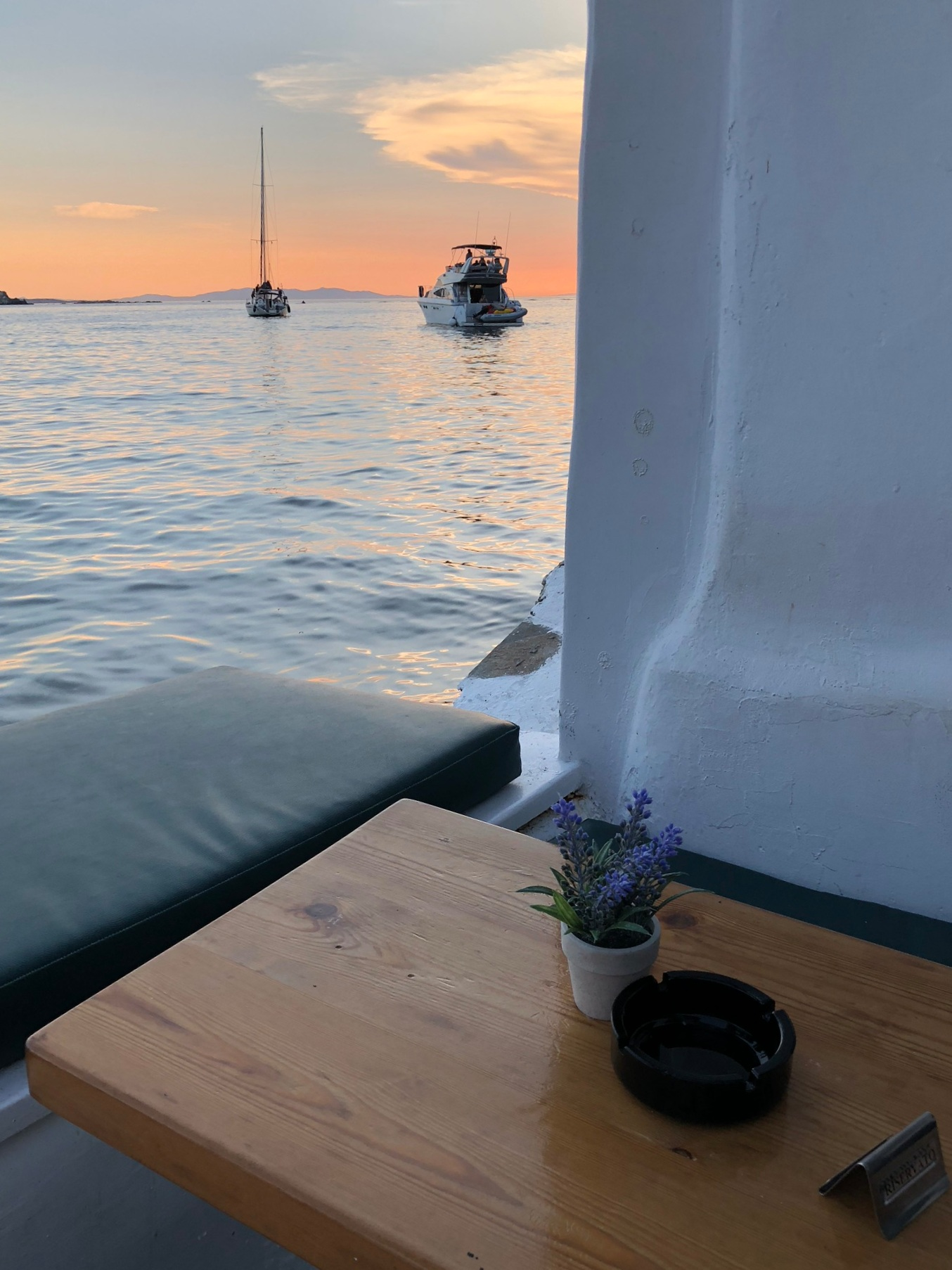 Find yourself a table with a view and settle in for sunset.