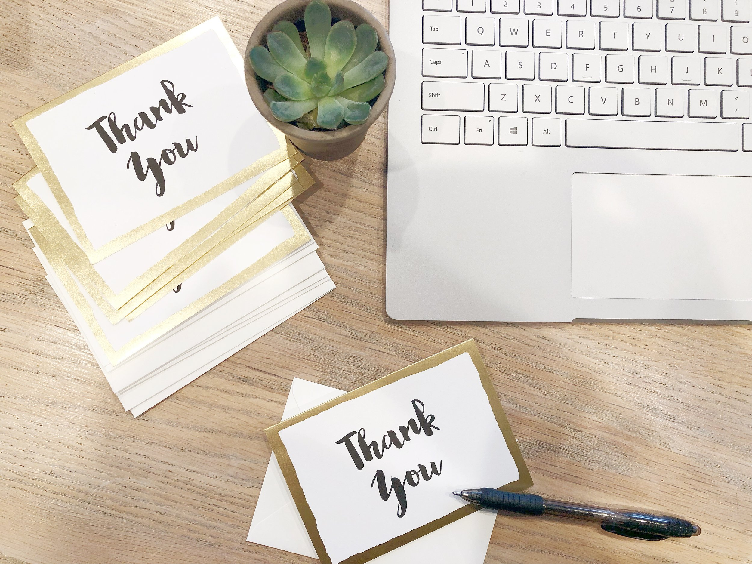 Best thank you notes and cards on Amazon.