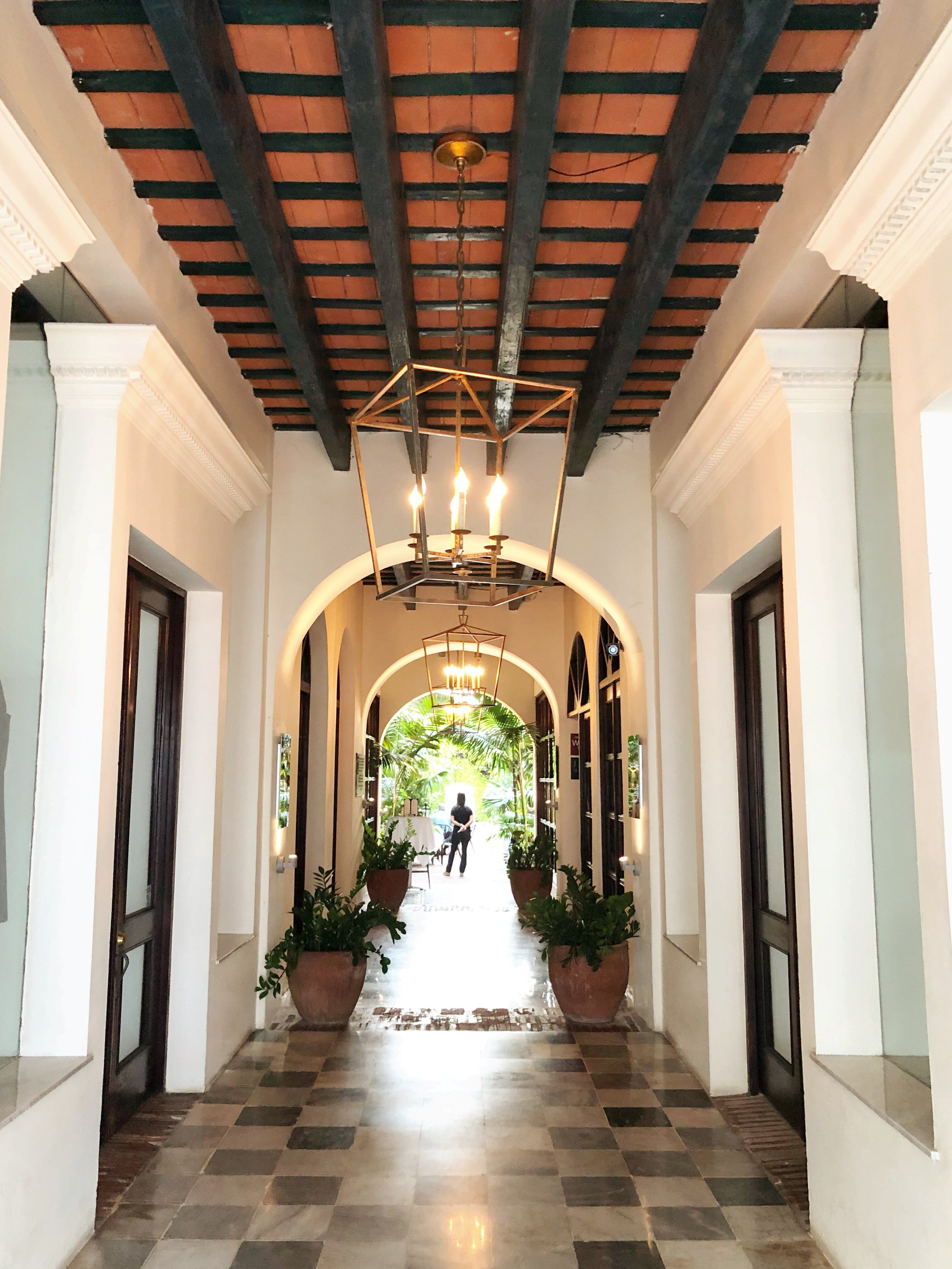 Walked past this gorgeous restaurant in Old San Juan - La Lanterna.