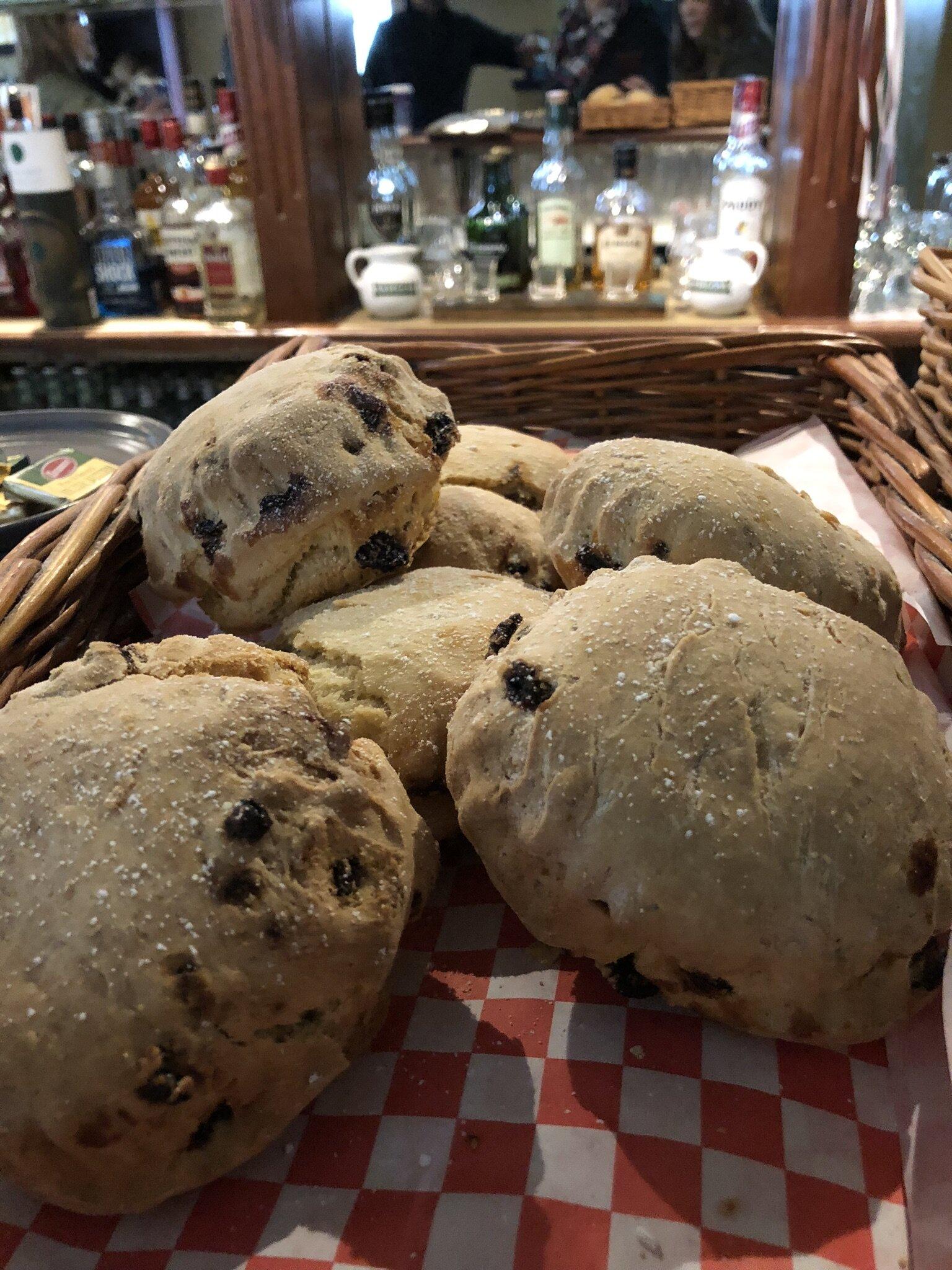 The scones at Keogh's were delish!