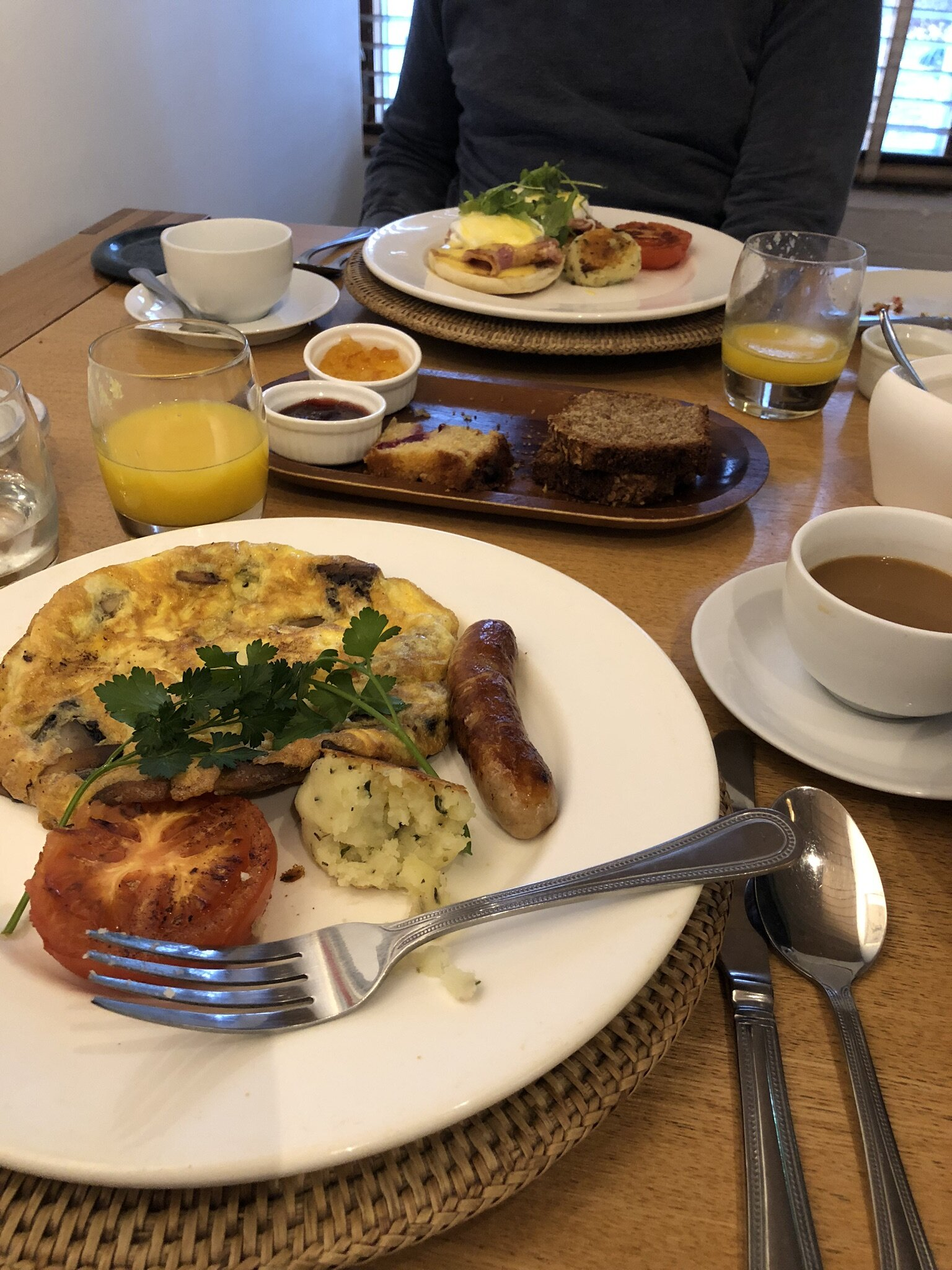 The ah-mazing breakfast at Number 31 Hotel!