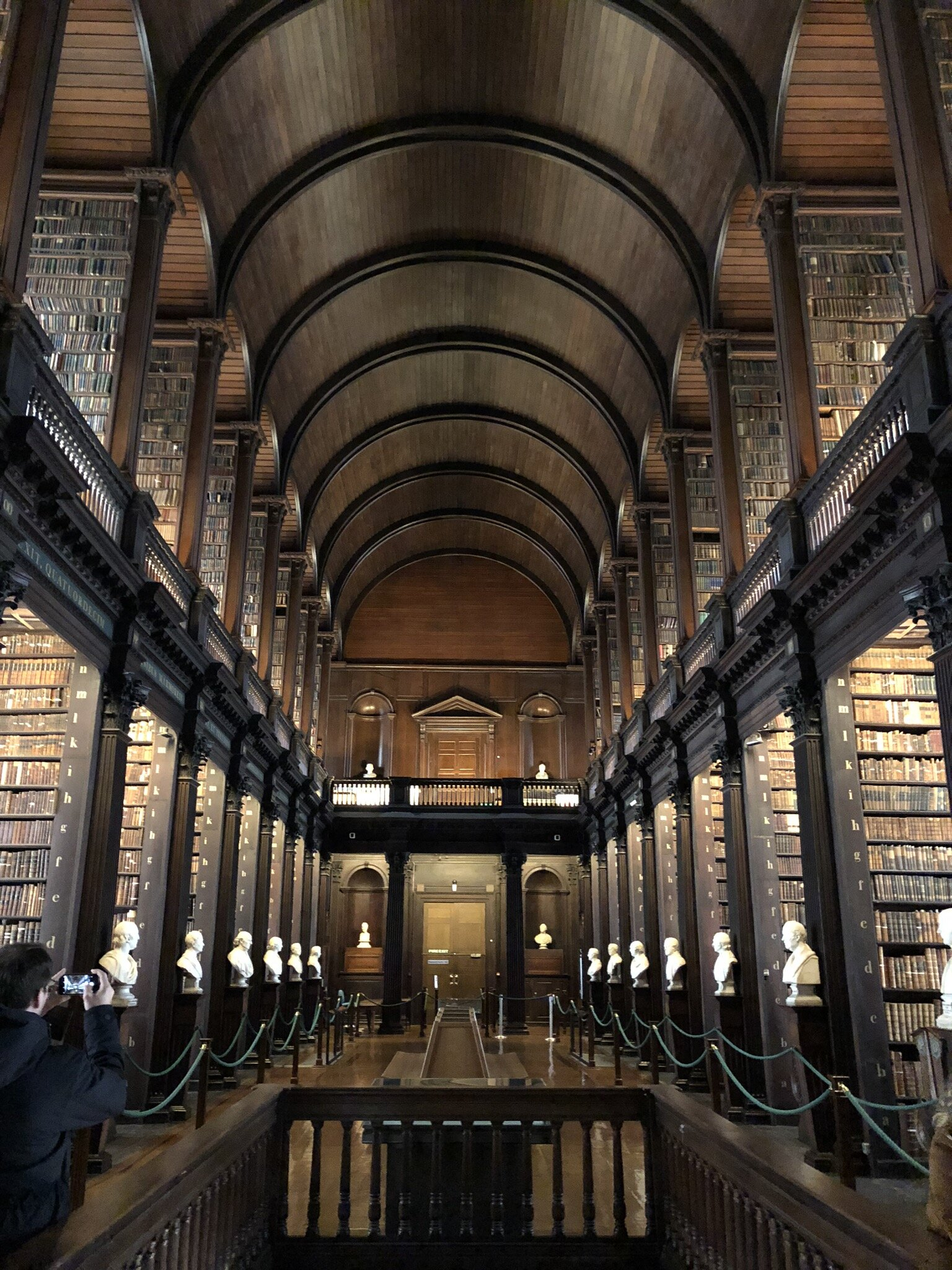 Trinity College Old Library in Dublin.