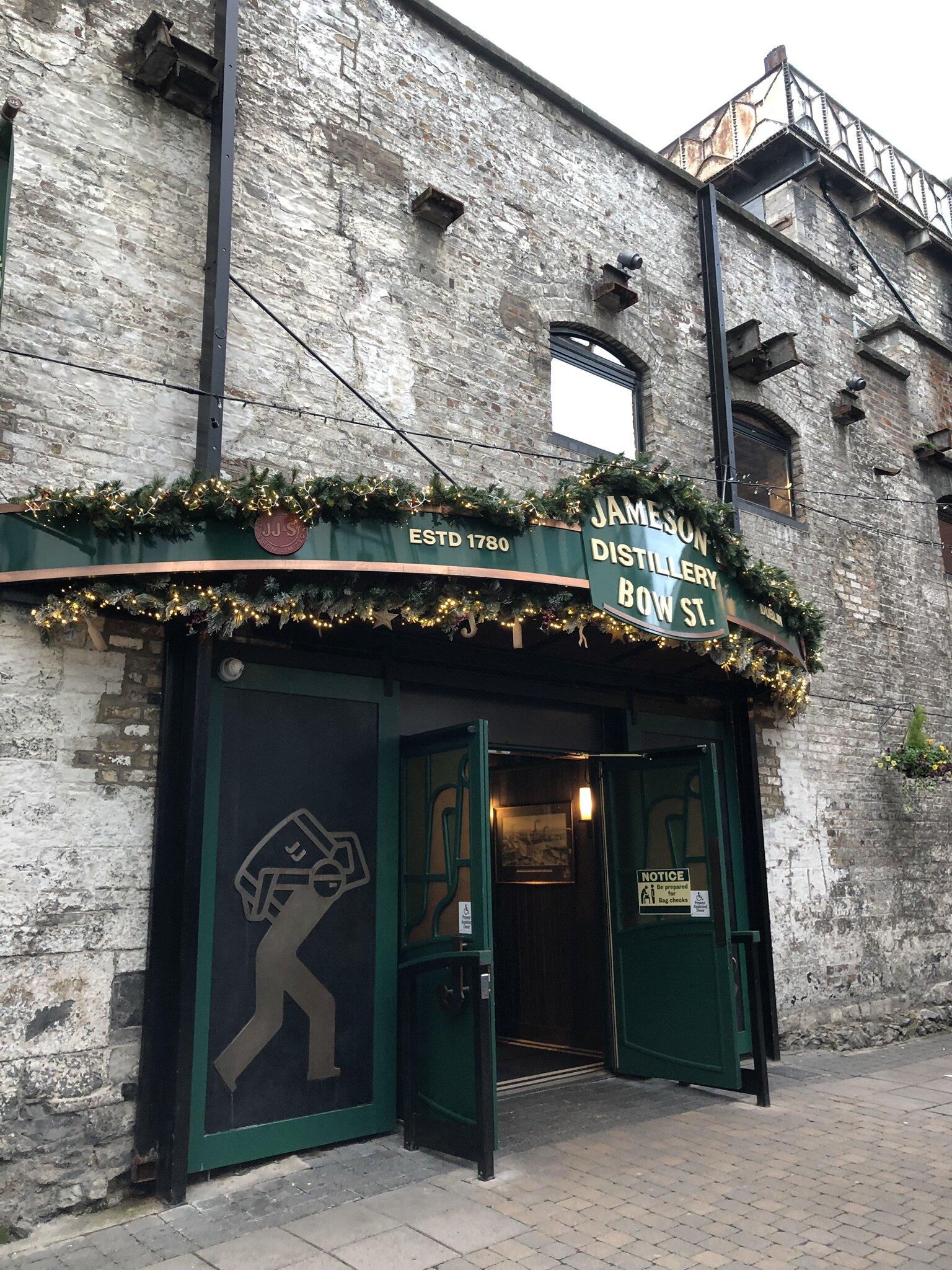 Jameson Distillery in Dublin.