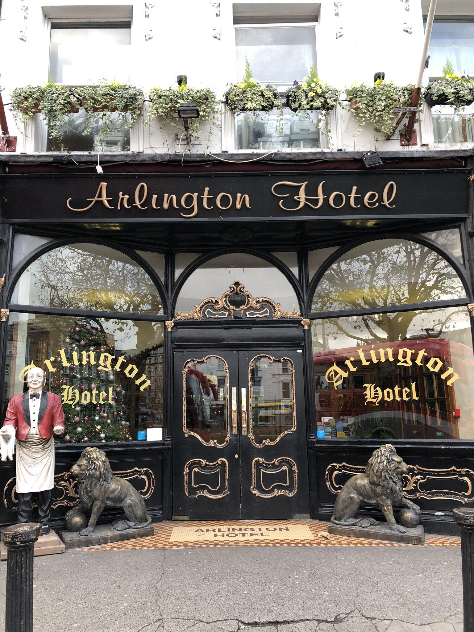 Arlington Hotel in Dublin.