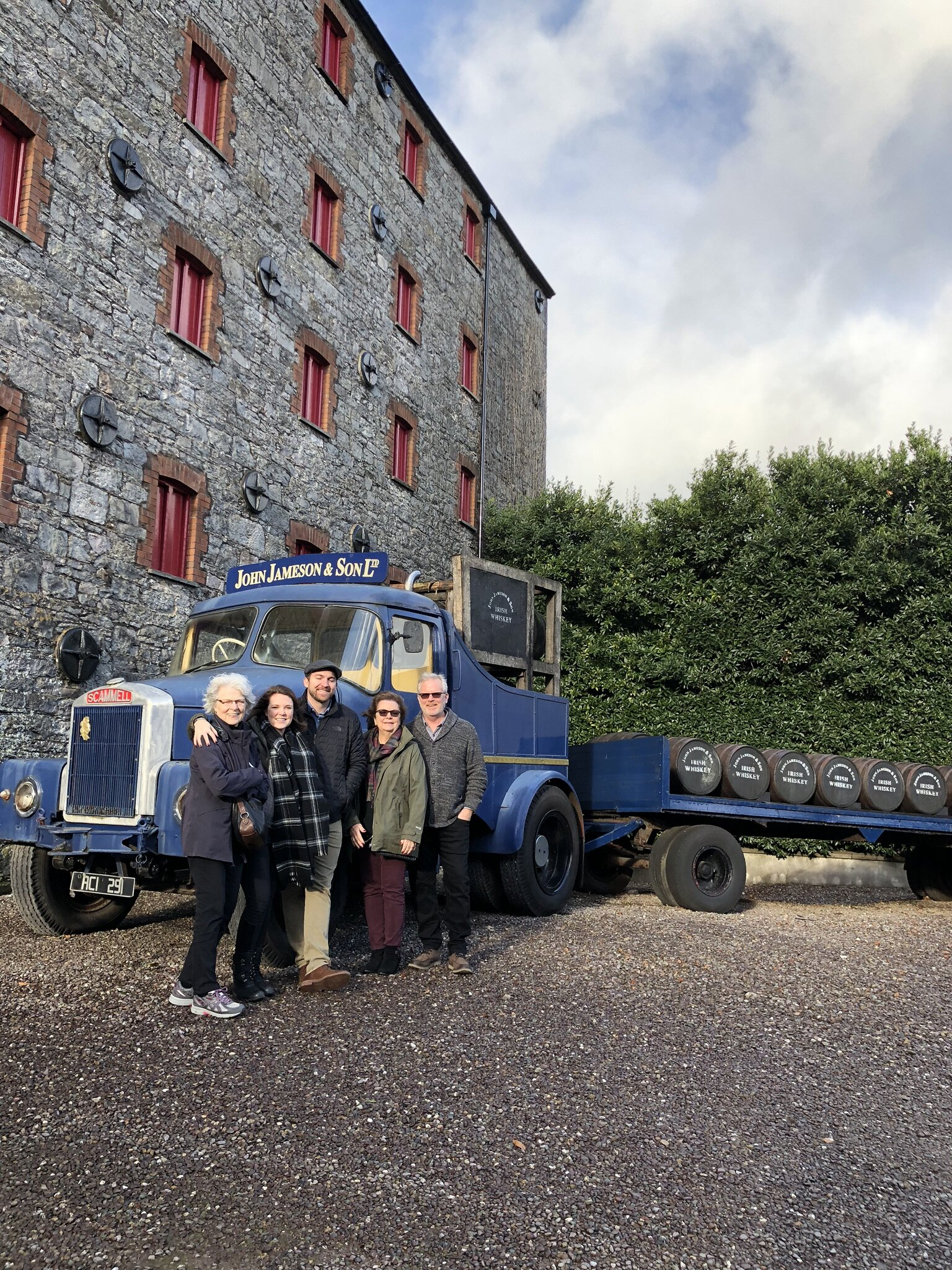 Jameson Distillery Tour in Midleton, Ireland.