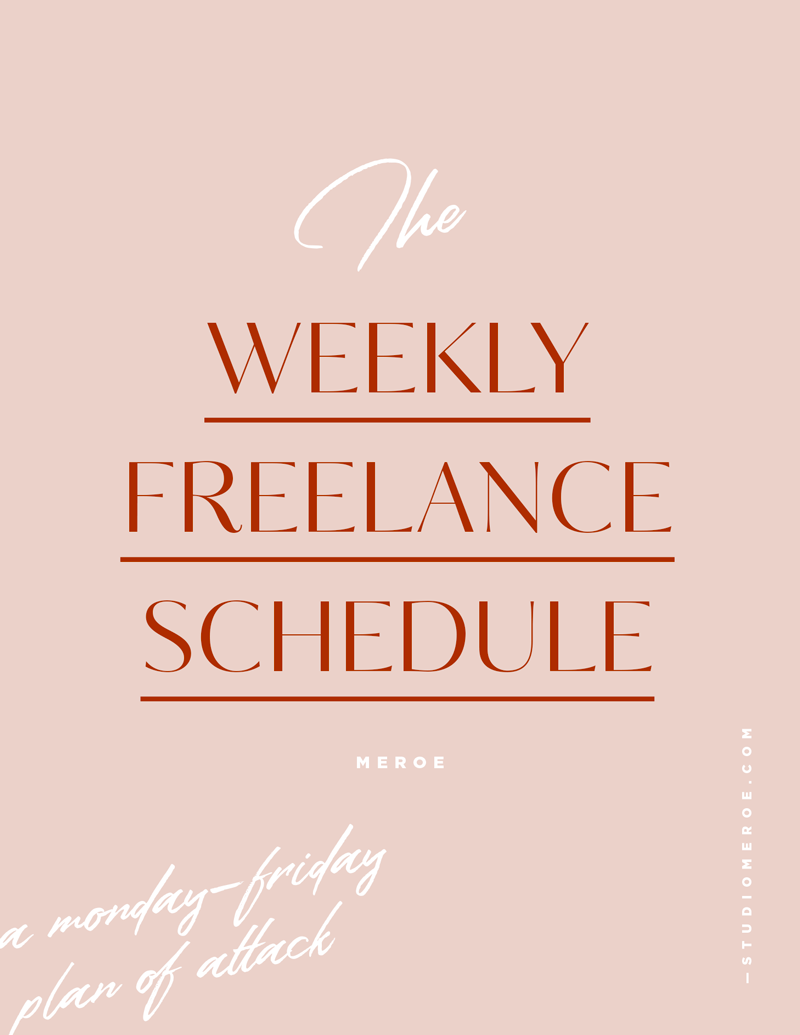 Freelance Tips For a Productive Work Week
