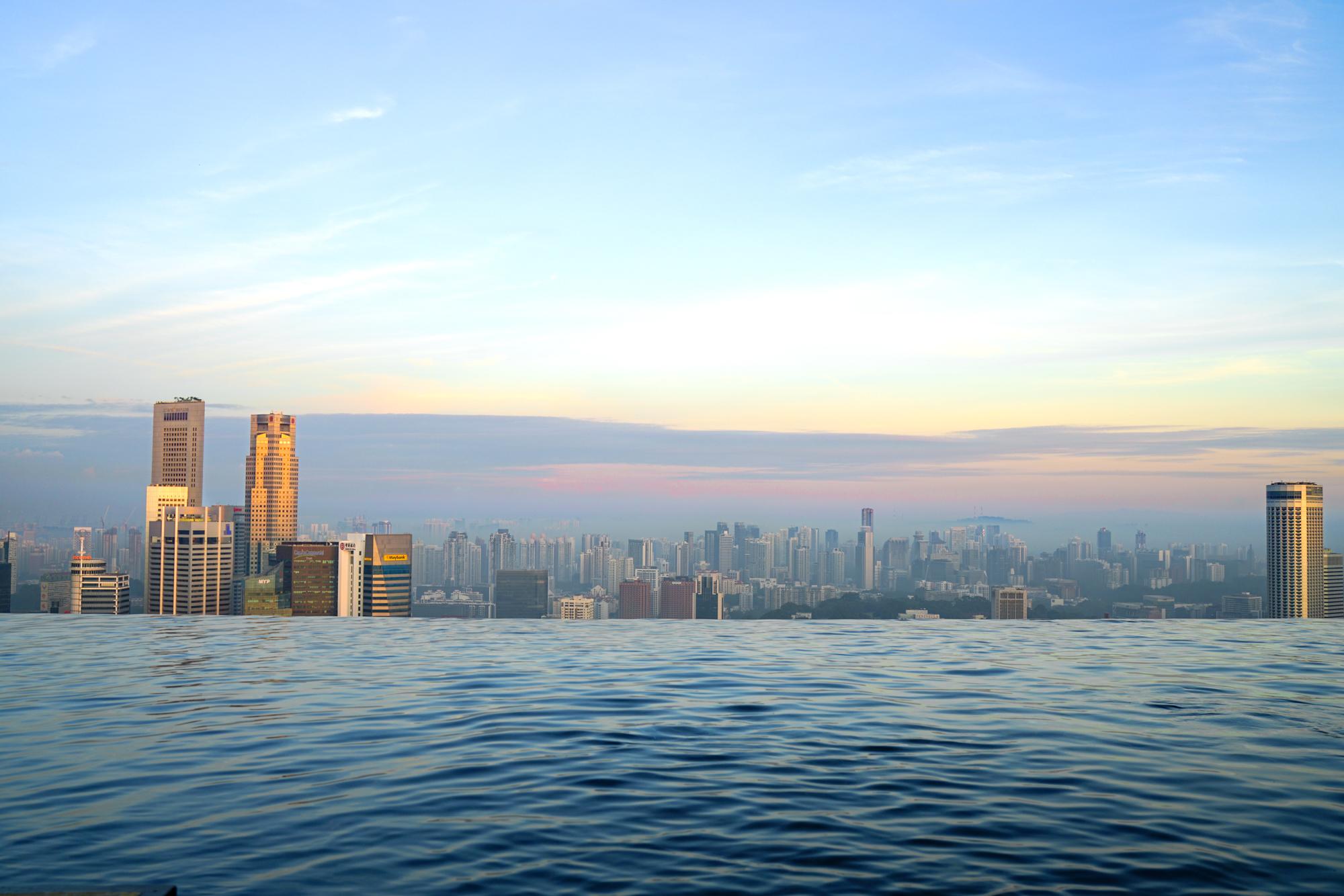 Singapore Skyline   Never Settle Travel