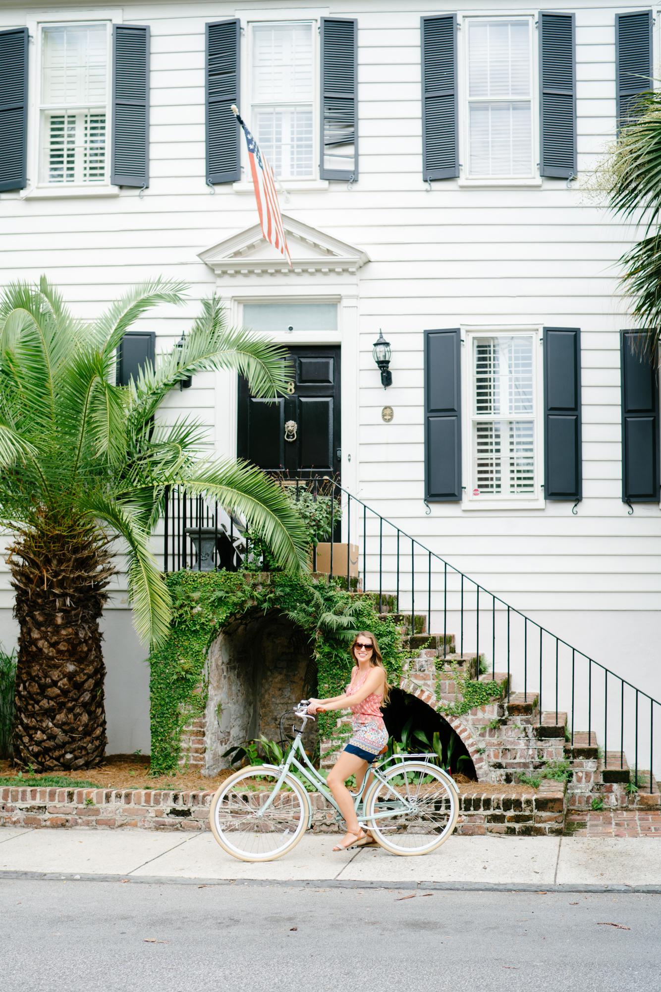 Bike riding in Charleston   Never Settle Travel