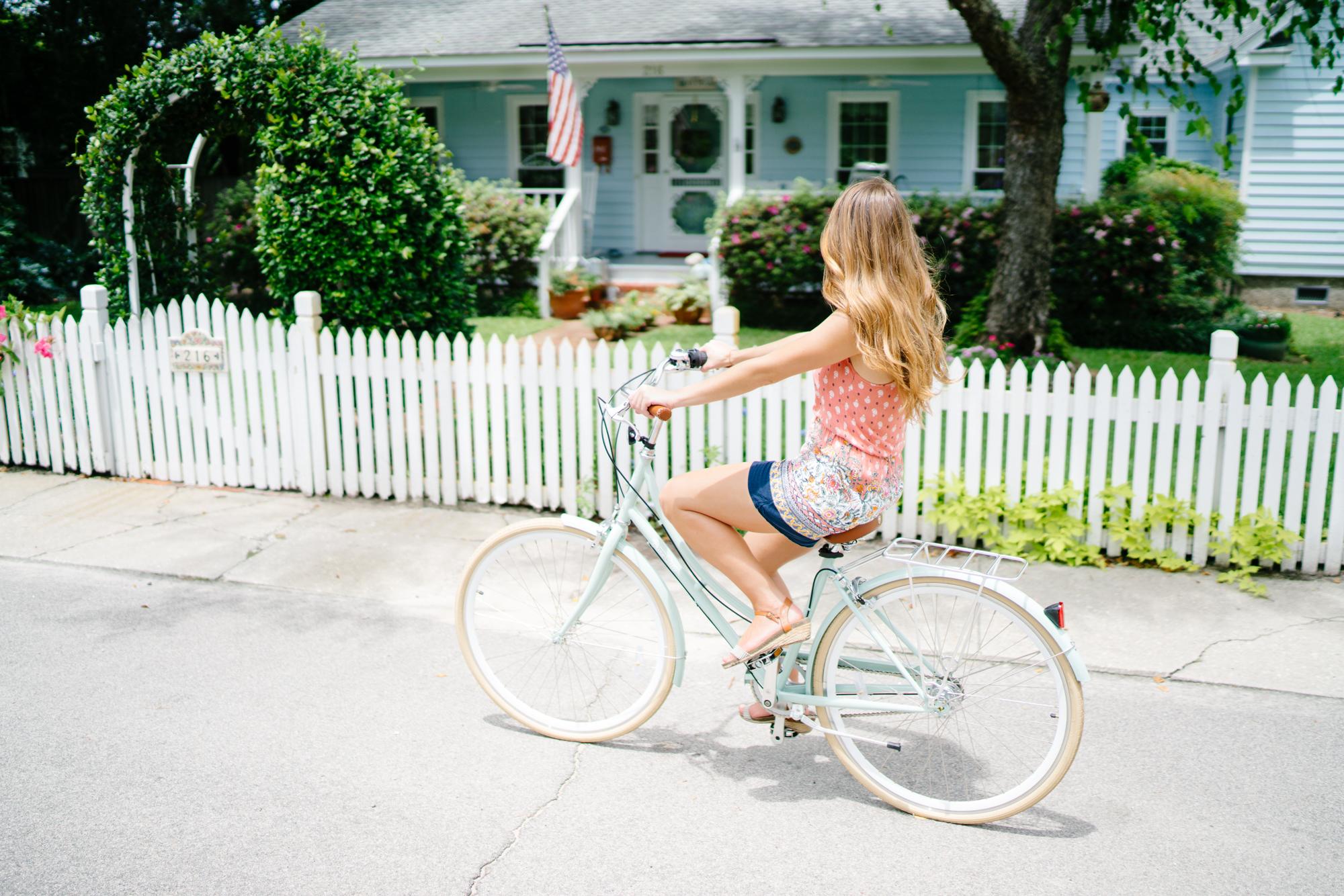 Summer bike rides in Charleston   Never Settle Travel