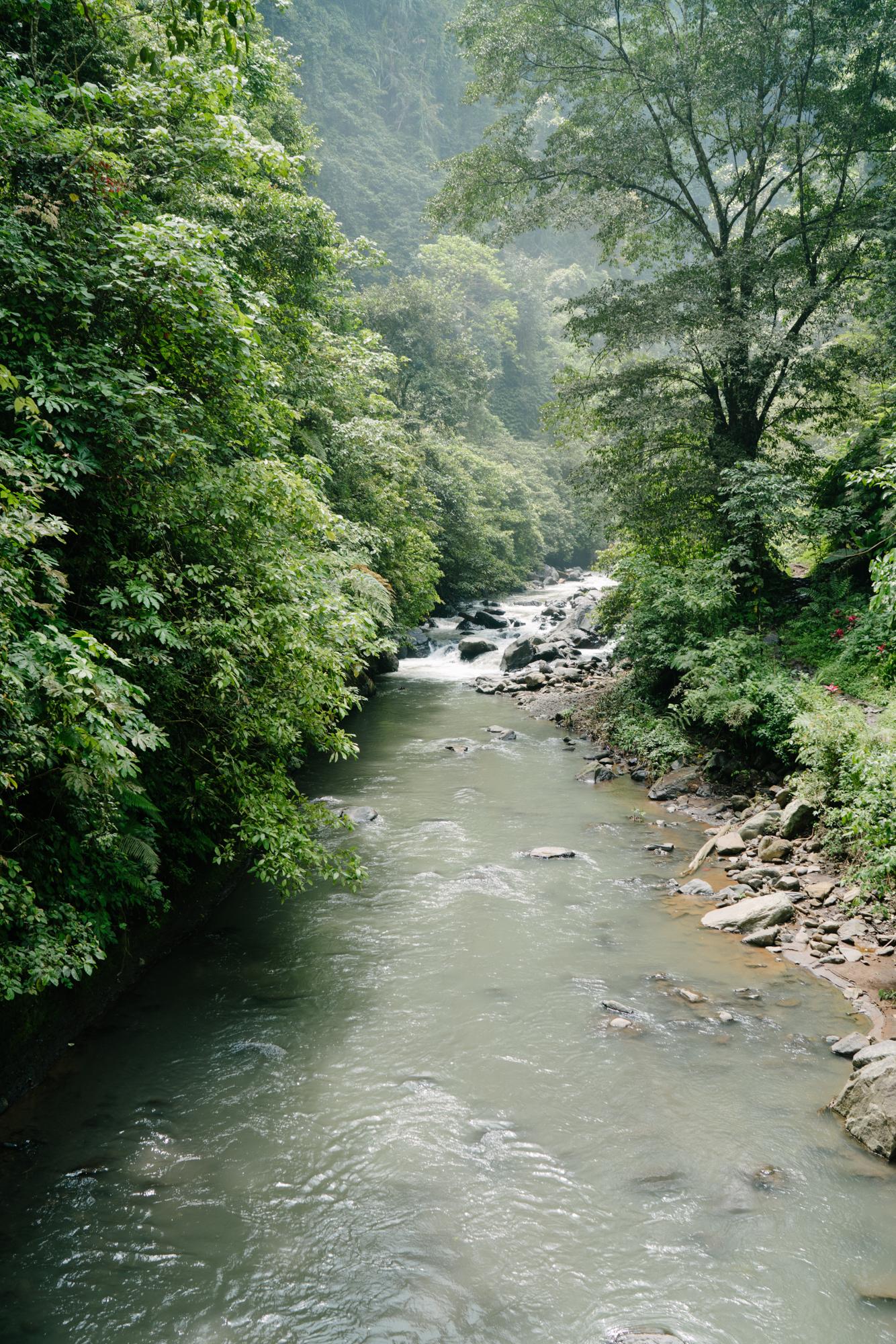 River in North Bali