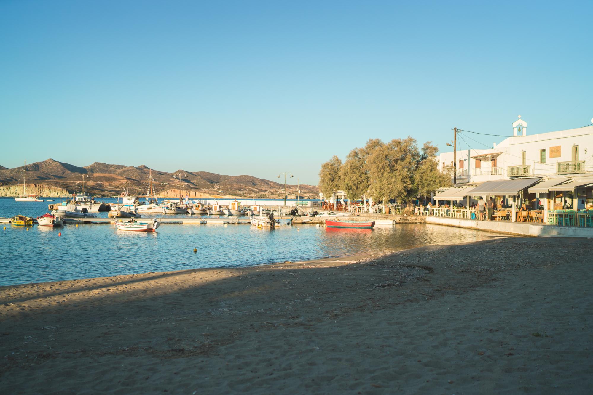 Pollonia, Milos, Greece   Never Settle Travel