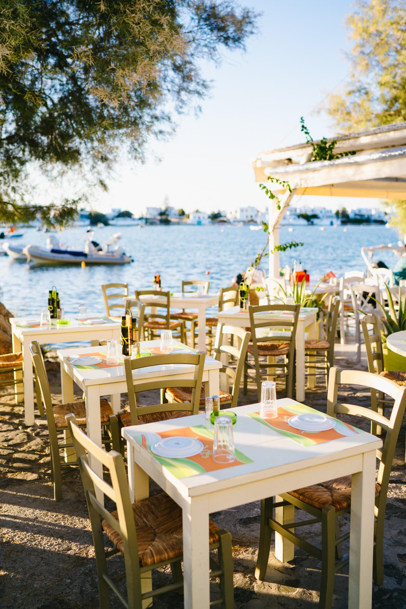 Best restaurants in Milos