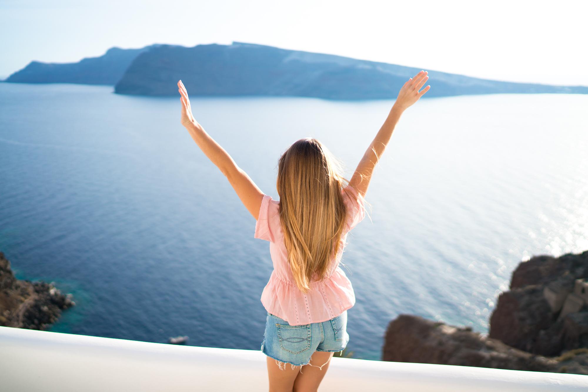 Best views in Santorini