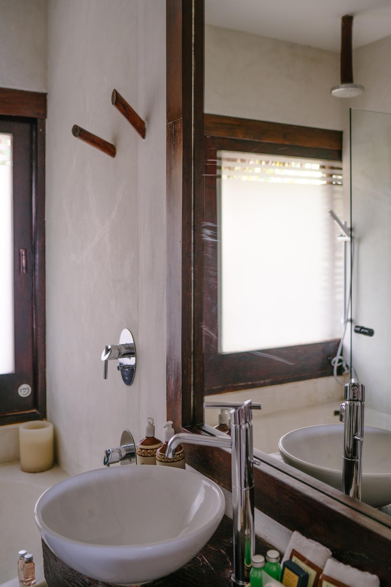 Bathroom at The Beach Tulum