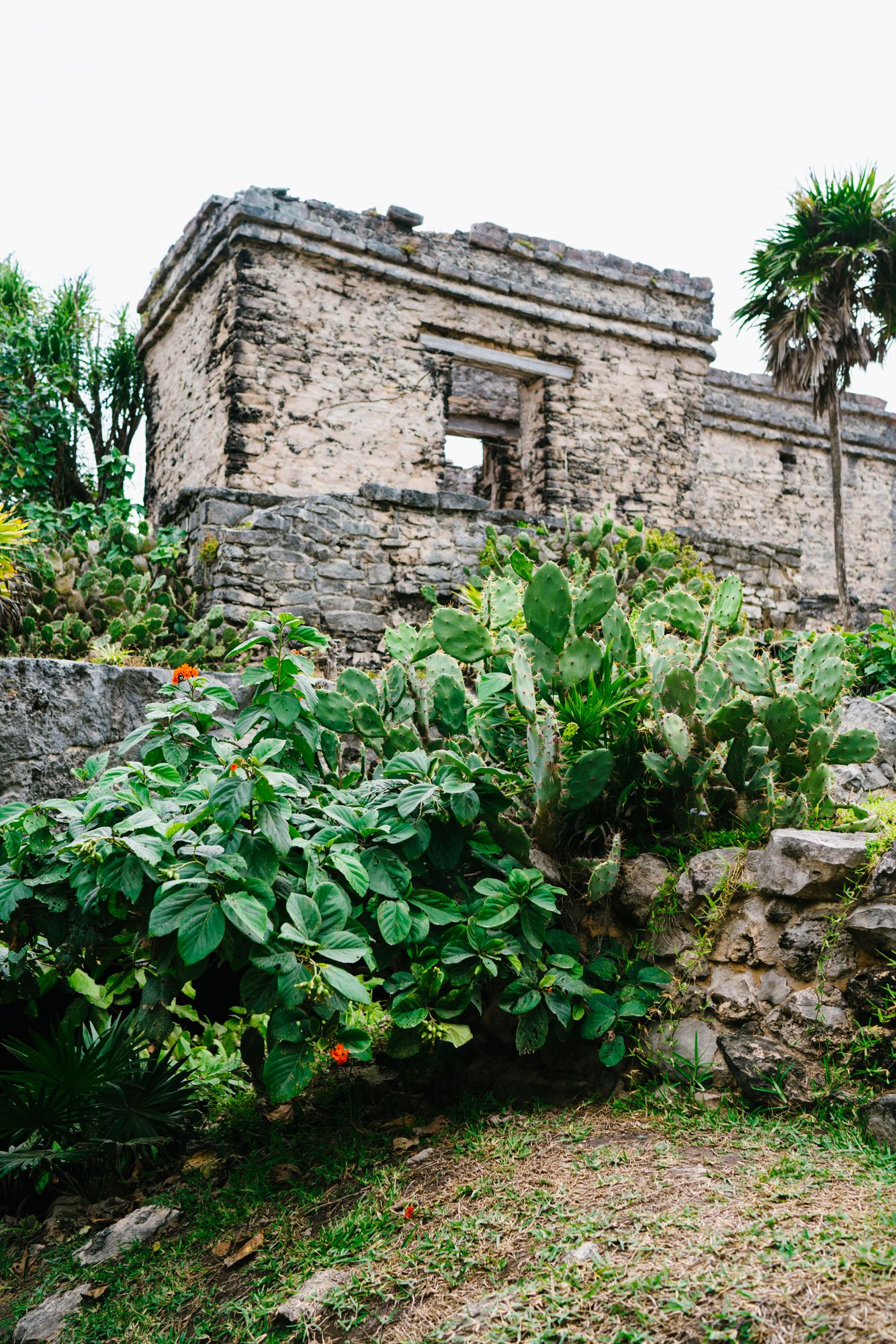 One of the three main ruins in Tulum