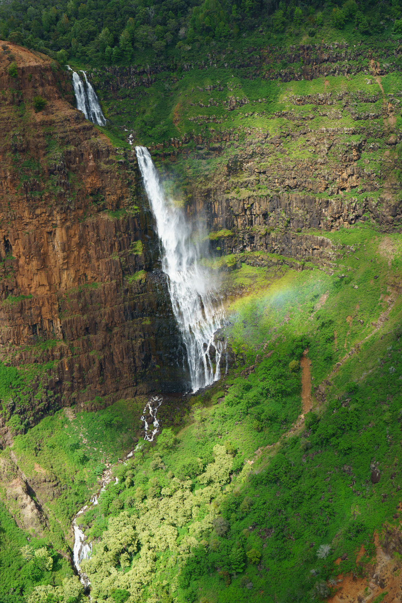 Waimea Canyon Waterfall   Never Settle Travel