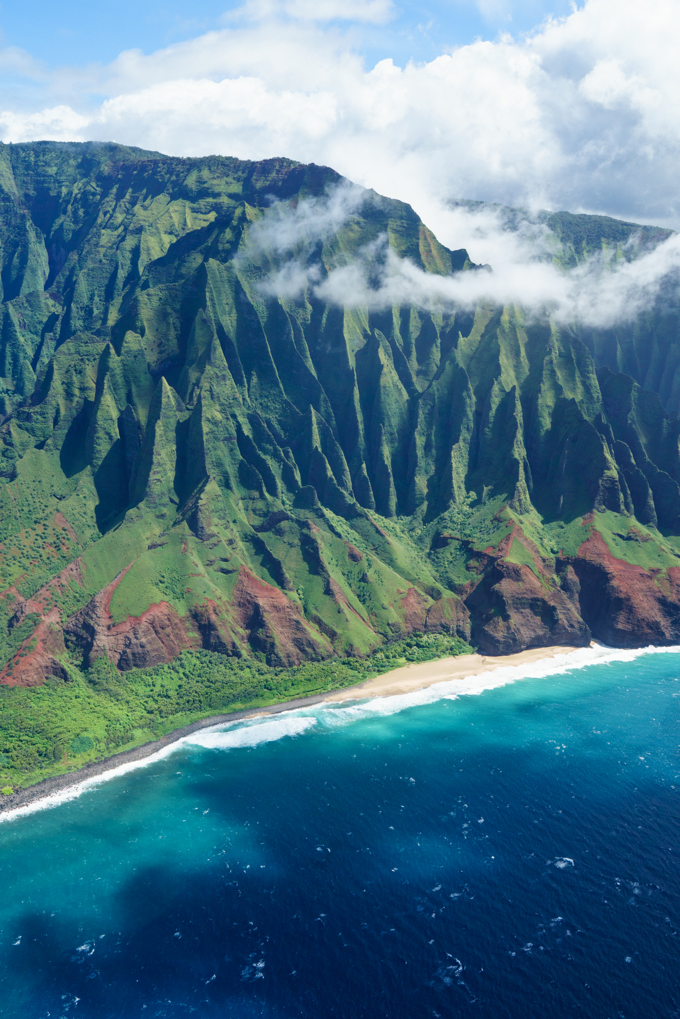Cathedral Beach on the Na Pali Coast in Kauai | Never Settle Travel
