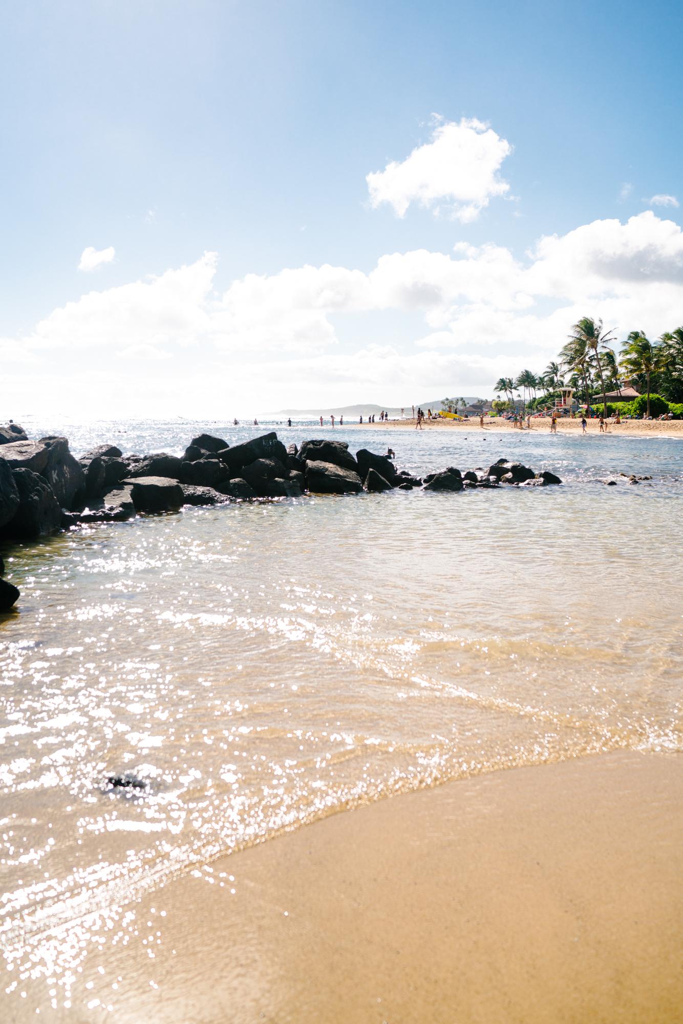 Poipu Beach in Kauai | Never Settle Travel