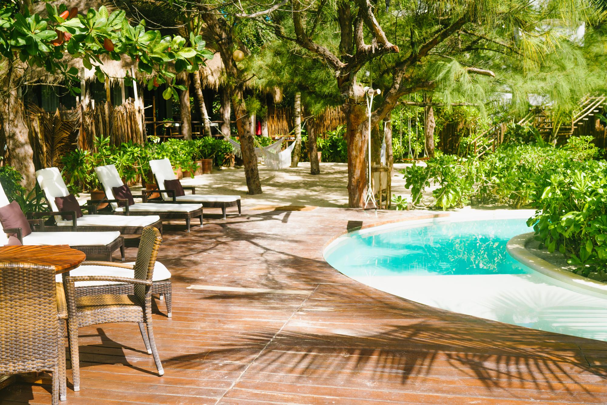 The Beach Tulum pool and sundeck