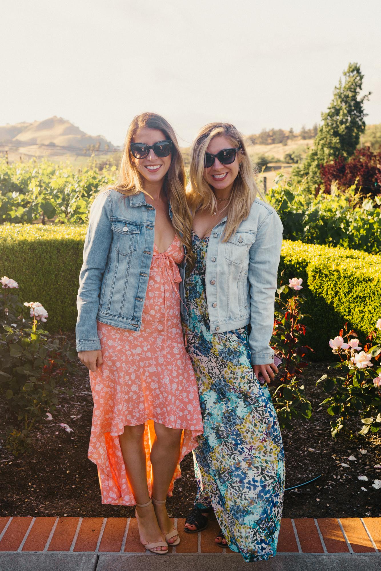 Girls trip to Napa Valley
