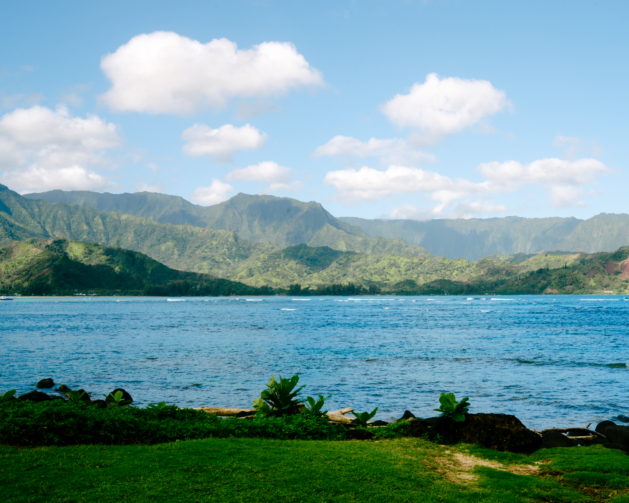 The St Regis Princeville in Kauai has the best view