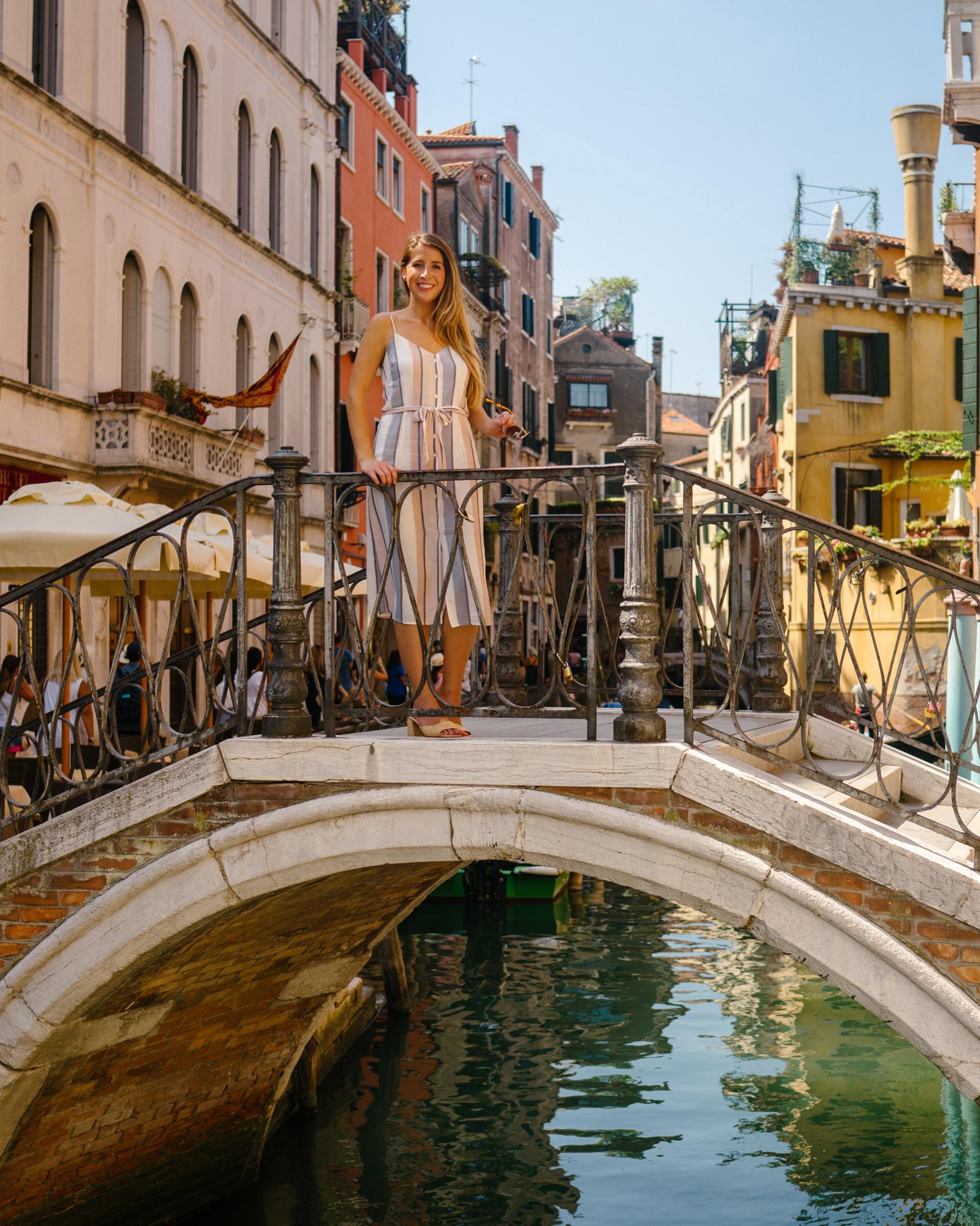 Prettiest bridges in Venice Italy