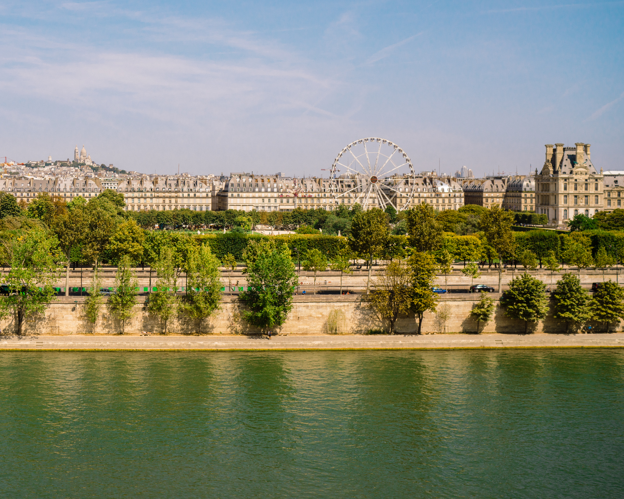 The view from Musee D'Orsay in Paris