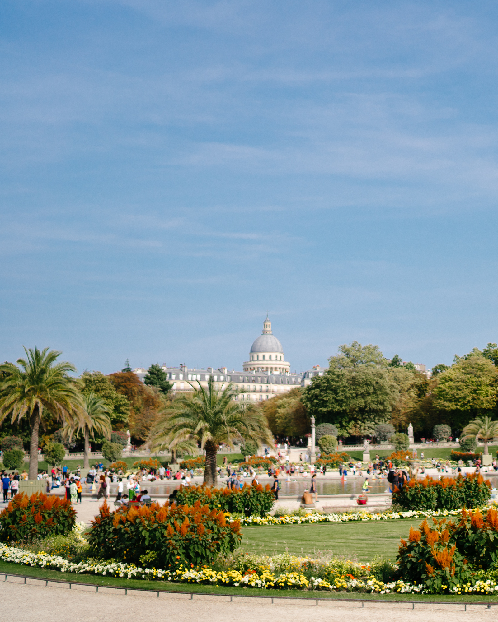 The Luxembourg Gardens in Paris