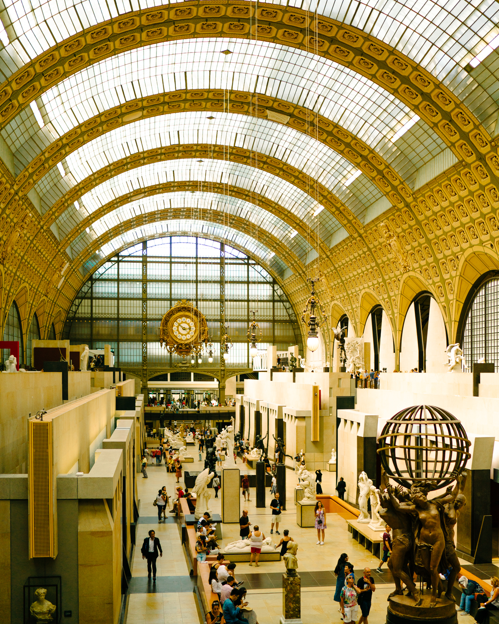 The Musee D'Orsay in Paris