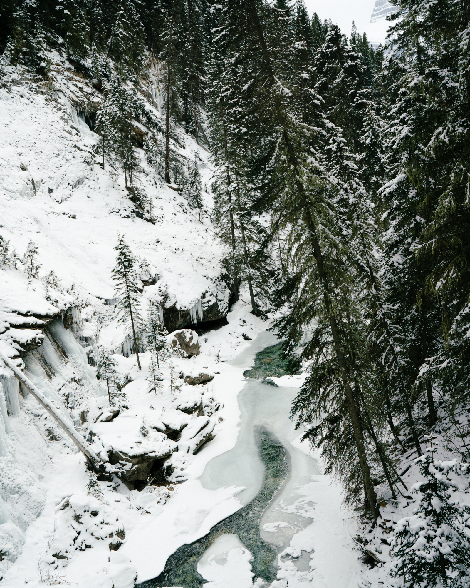Johnston Canyon in Banff National Park