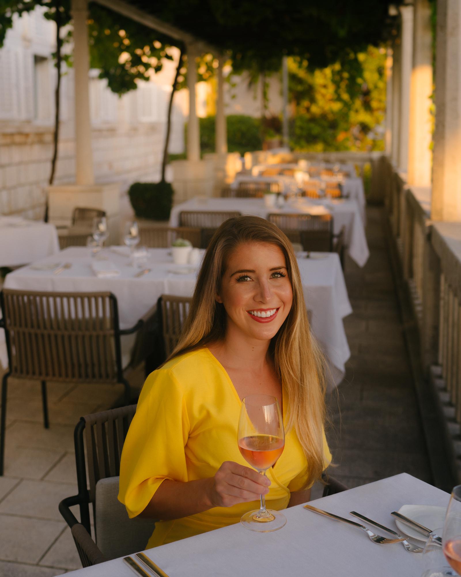 Dinner at Victoria Restaurant in Dubrovnik
