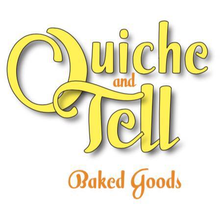 - Quiche & Tell was born in response to Jersey Java and Tea's customers' hunger for homemade all-natural baked goods. Quiche & Tell continues a rich family tradition by creating baked goods made with love and all-natural ingredients at Jersey Java.