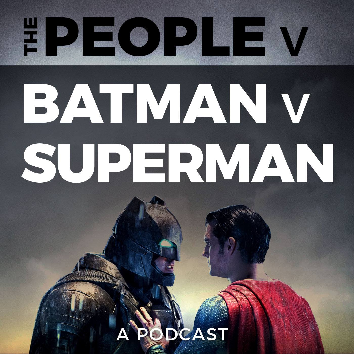 The People v Batman v Superman - Two huge DC Comics fans, Chris Ayers and Dennis Cooper, discuss, analyze and criticize Batman v Superman scene by scene on a weekly podcast. We also feature guests with various viewpoints, including comic book creators Brian Augustyn, Jamal Igle and Chris Sims.thepeoplevbatmanvsuperman.libsyn.com