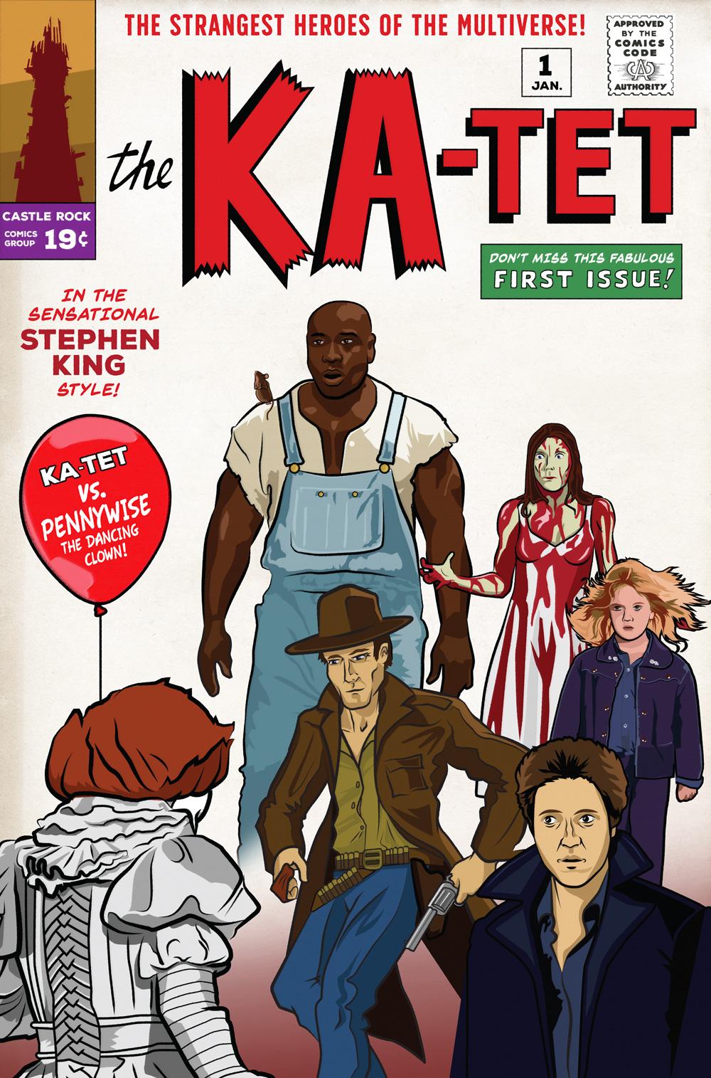 Stephen King fan art