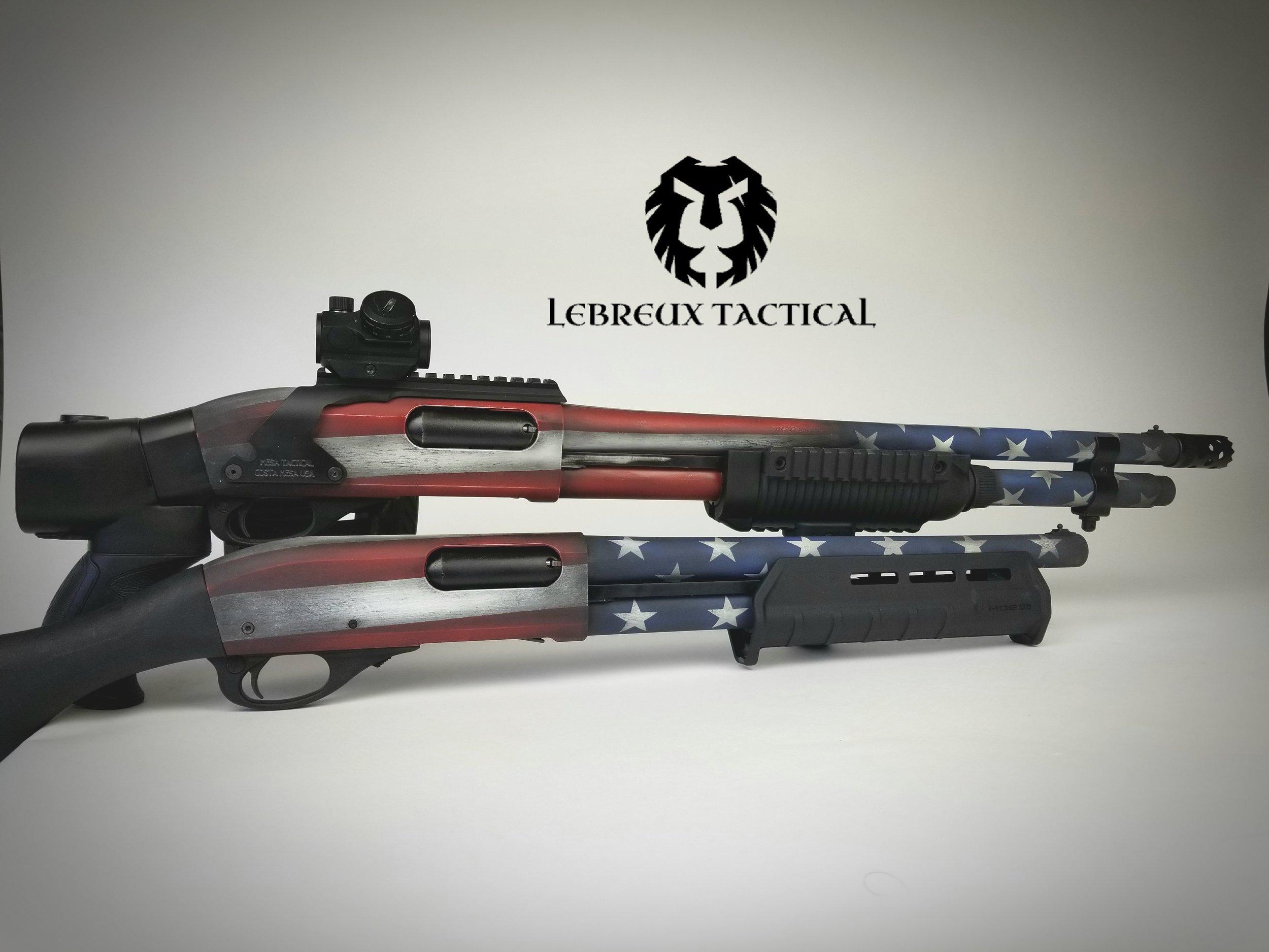 Rem 870 Cerakote American Flag.jpg
