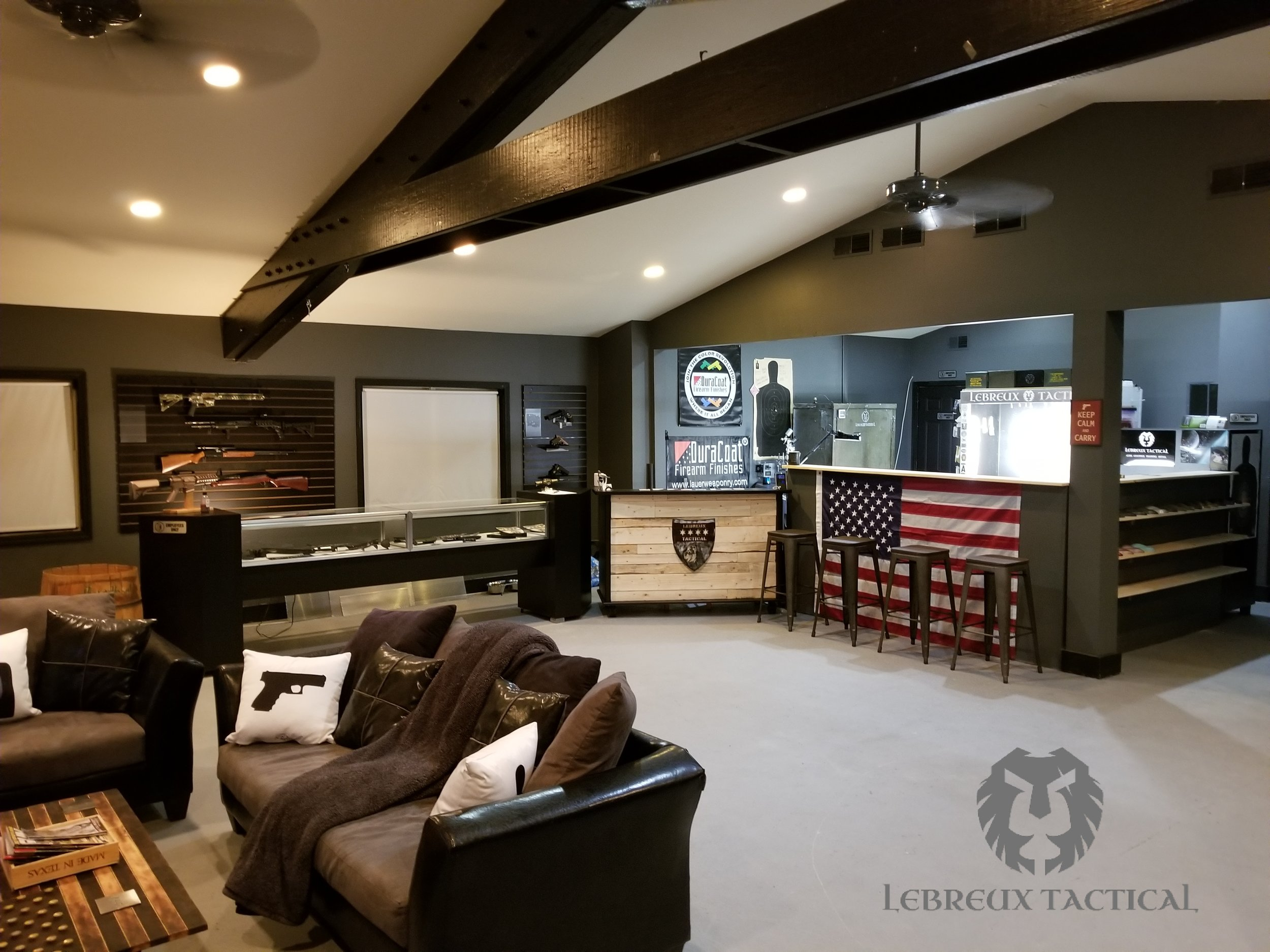 An inside look here at LeBreux Tactical!