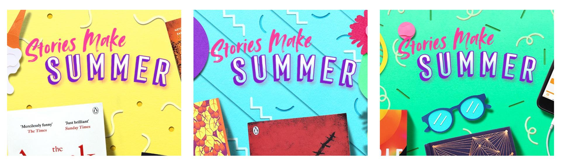 Penguin Summer Campaign Logomark