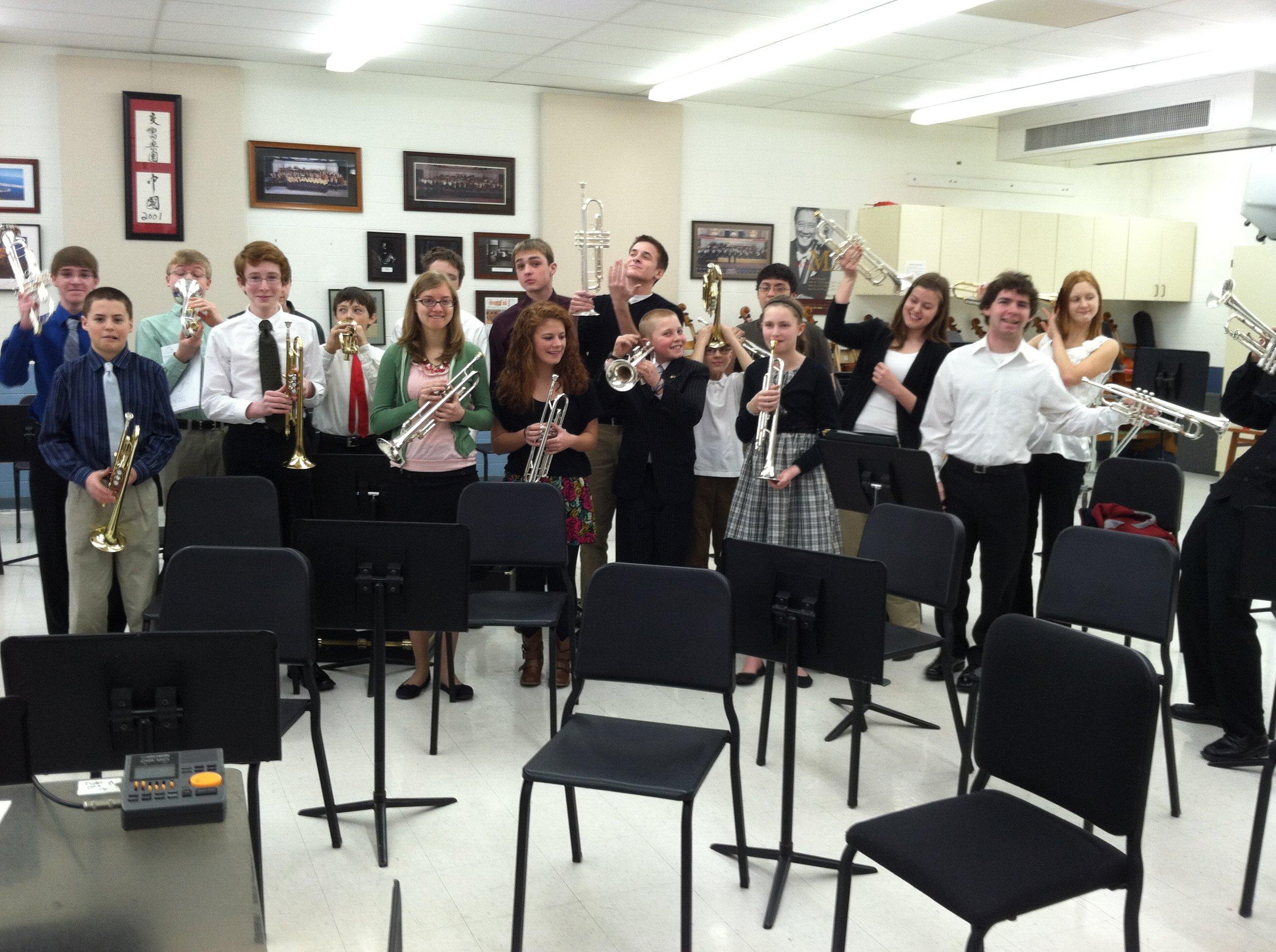 Trumpet Studio - James' Libertyville High School Trumpet Studio