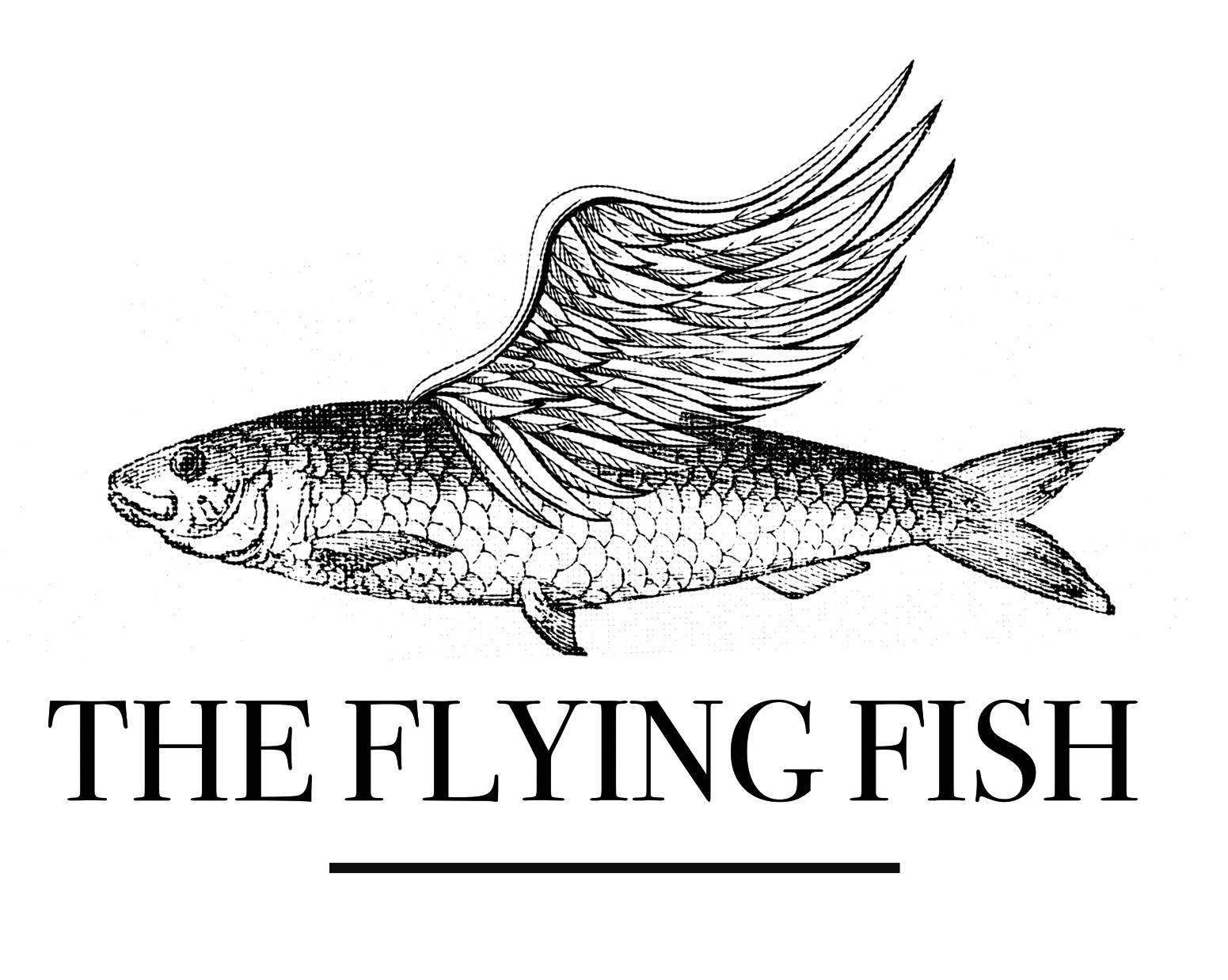 Flying Fish Logo Design by C100.