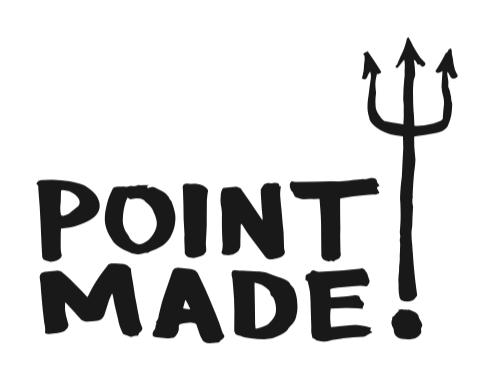 Point Made Logo Design by Christian Hundertmark / C100 Studio
