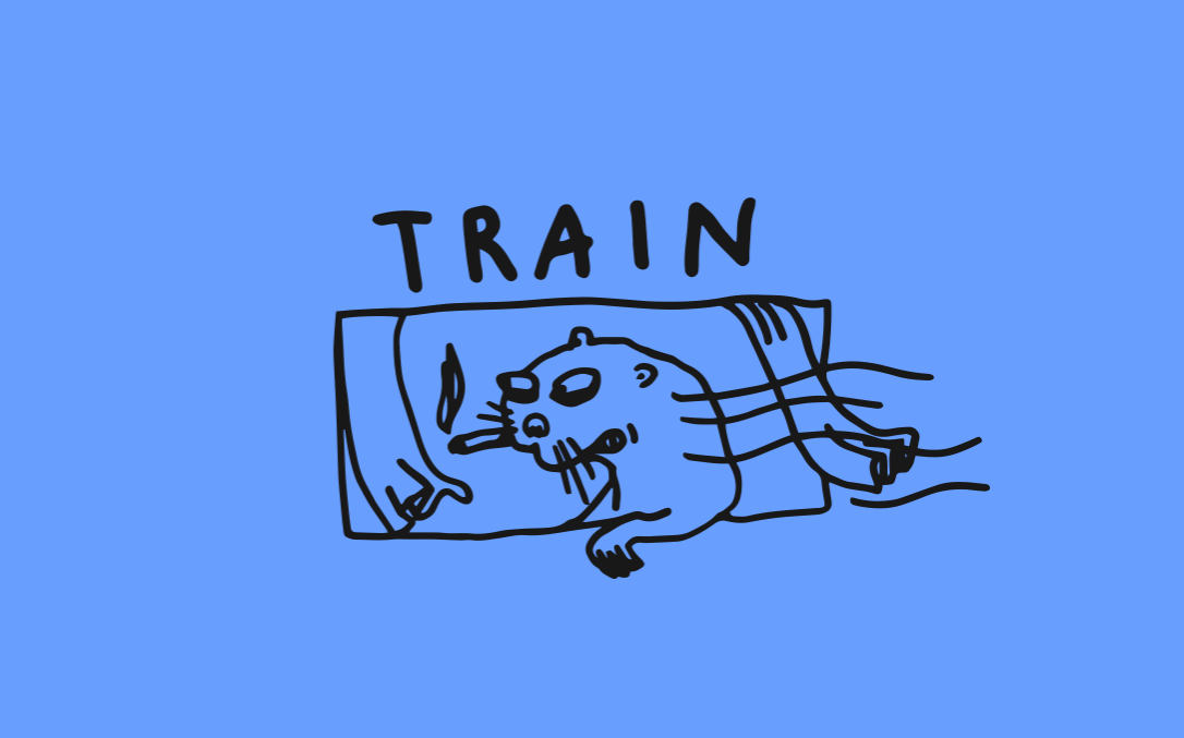 Train Logo Design by ze 1 and Only Conny Maier alias Atelier Conradi.
