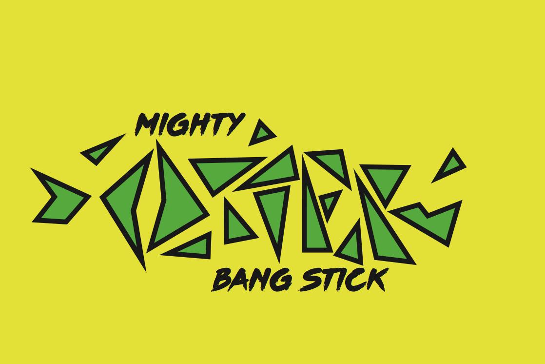 Bang Stick Logo by Marco Kawan.