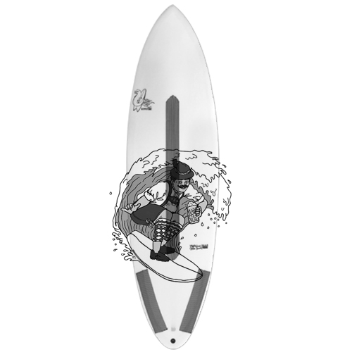The Bachelor - Single Fin + 2 Allrounder