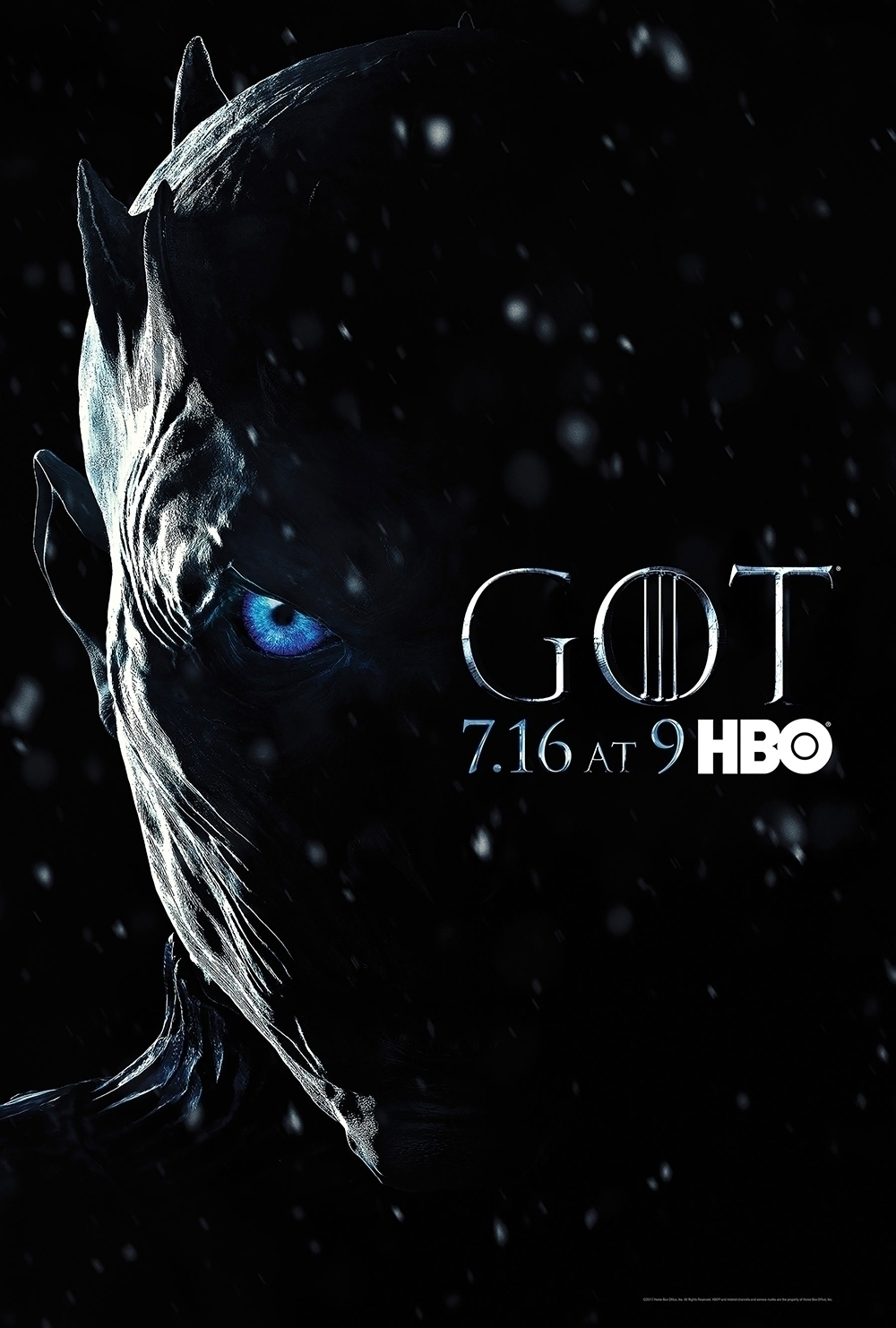 """Key Art Tease- In """"Game of Thrones"""" Season 7, Winter has finally come — the war fans have been waiting for is finally upon Westeros."""
