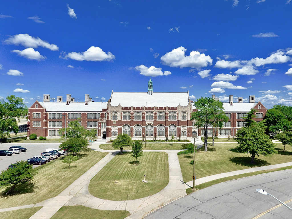 Home sweet home. - VentureSchool is proud to call the Durfee Innovation Society Home to our unique entrepreneurial programming that will serve the students of Detroit's Central High School.