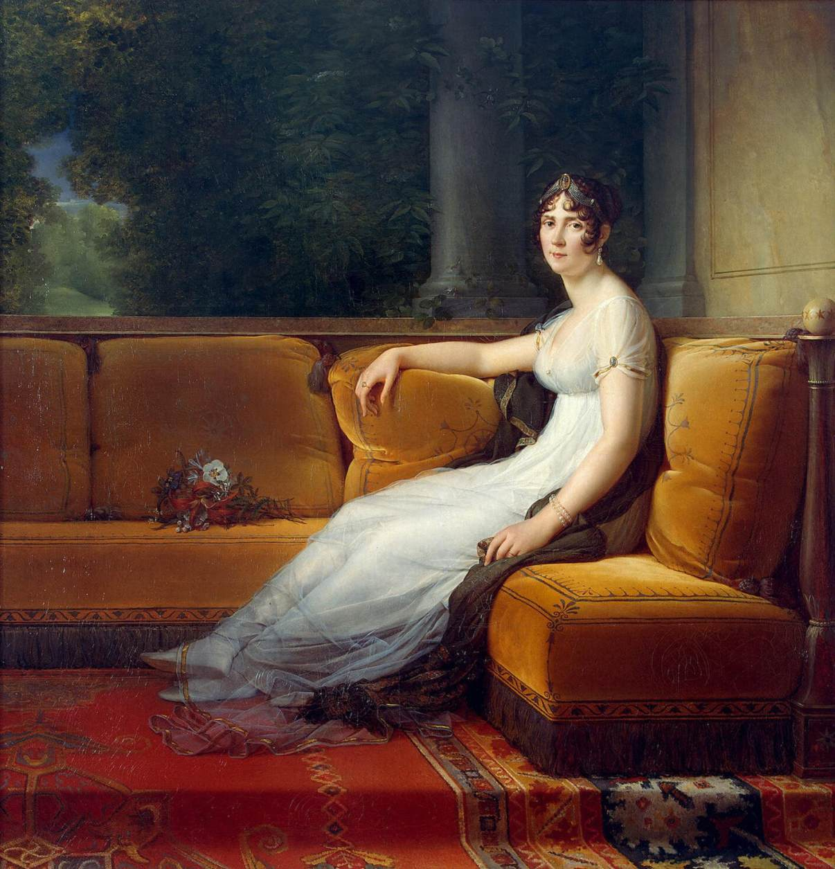 Francois Gerard, 1801. Oil on Canvas