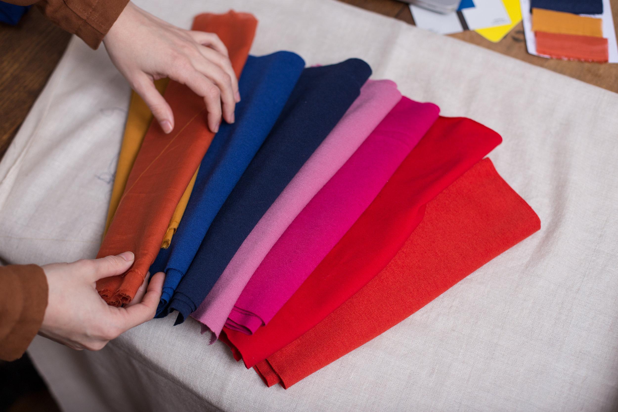 Colour pallete Pashmina Cashmere stoles